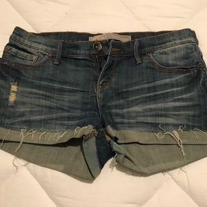 Blue jean shorts size 9
